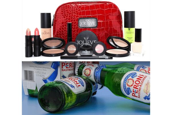 化粧品と酒